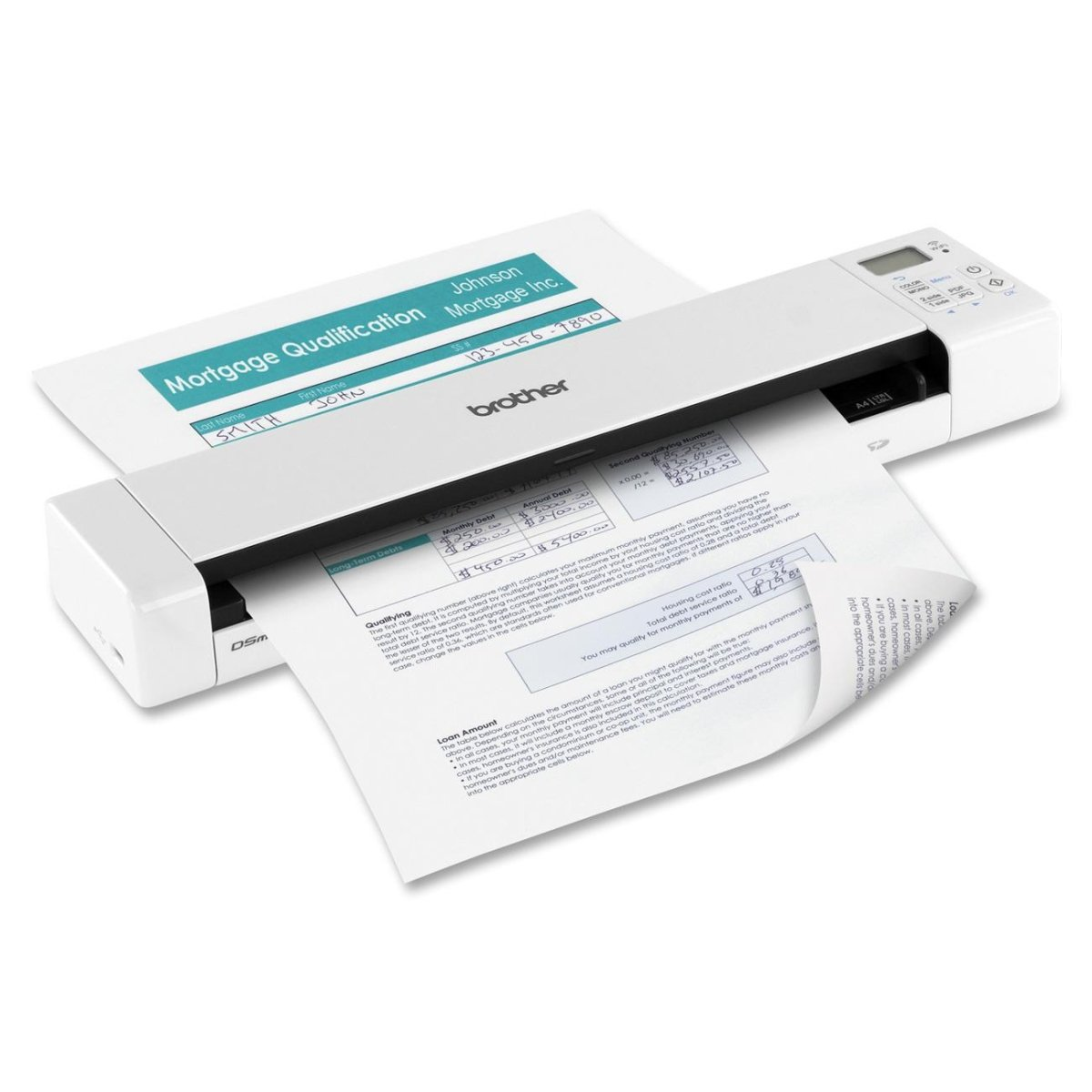 Brother DS-920DW MBL Scanner BRTDS920DW