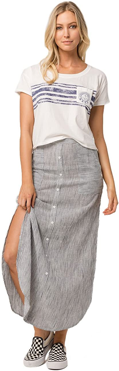 Roxy Women's Sunset Islands Yarn Dyed Skirt