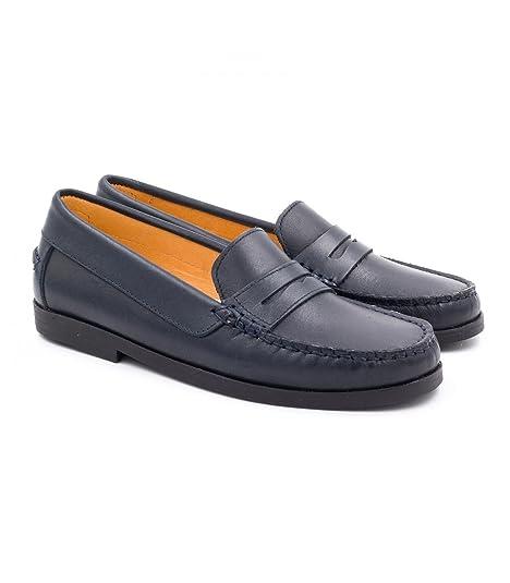 Boni Classic Shoes Mocasines de Otra Piel Unisex Niños: Amazon.es: Zapatos y complementos