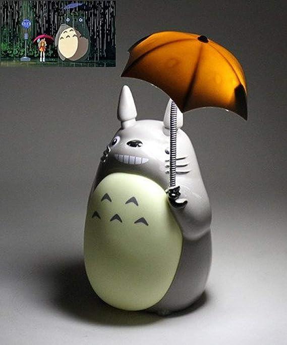 LPOIK Totoro Anime LED-Nachtlicht [Green Belly], PO2015-S256 Kinder-Charakter-Lampe, USB-Aufladung, Schreibtisch-Nachttisch-L
