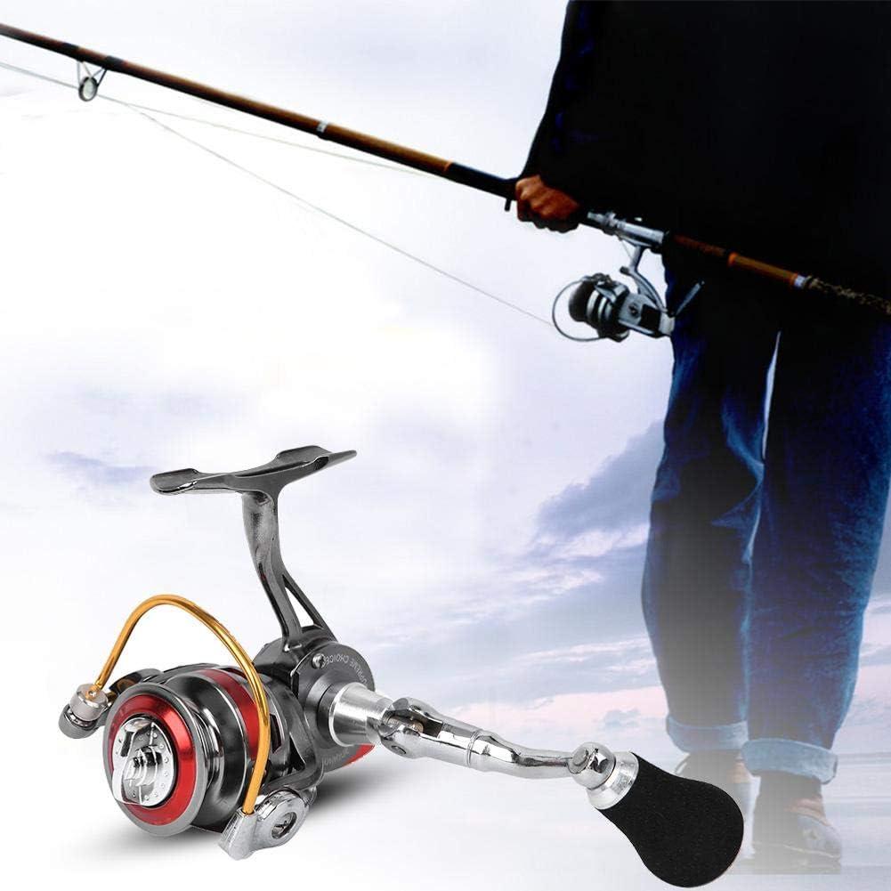 Spinning Fishing Reel, Keenso All Metal Mini Ice Winter Rock Sea ...