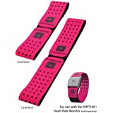 Scosche Rhythm+ Replacement Strap - Pink Strap for Scosche Rhythm+ Optical Heart Rate Monitor Armband