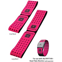 Scosche Rhythm+ Optical Heart Rate Monitor Armband Replacement Strap Pink