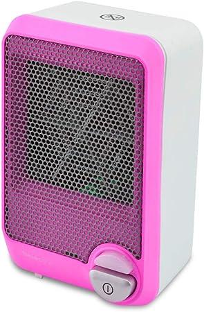Selecline FH101 Calentador de ventilador Interior Rosa, Blanco 600 ...