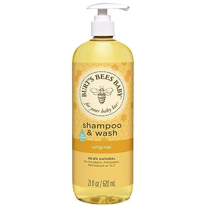 3. Burt's Bees Baby Shampoo & Wash, Original Tear Free Baby Soap - Best Hydrating Baby Shampoo
