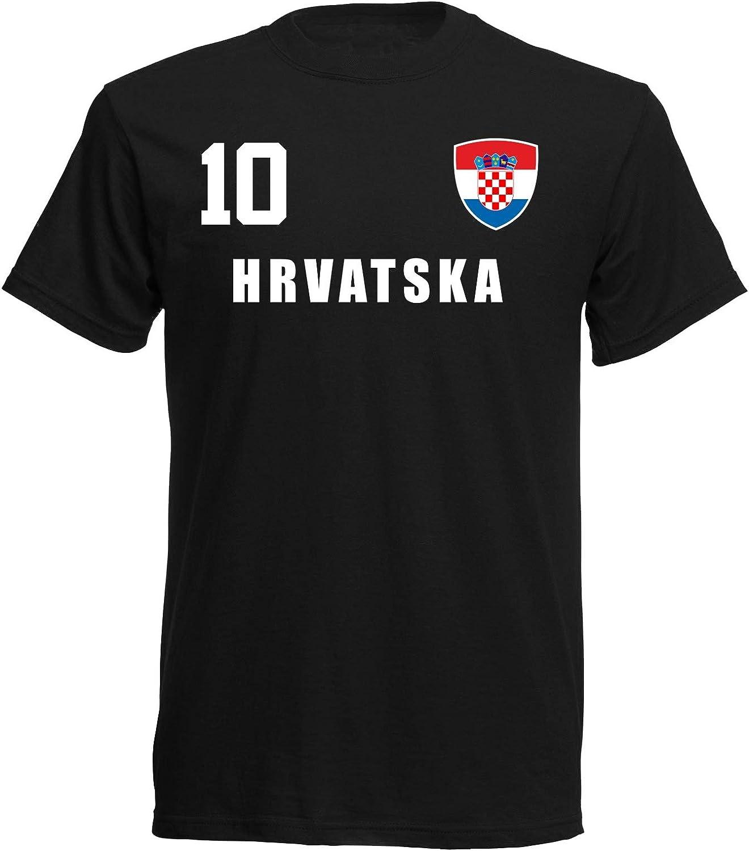 aprom Camiseta para niños de Croacia ALL-10 SC - Mundial 2018: Amazon.es: Ropa y accesorios