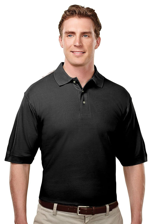 Edwards Garment Fashion Mesh Long Sleeve Wicks Moisture Polo Shirt