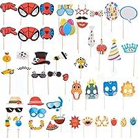 Unishop Accesorios Atrezzos Photocall Complementos para Foto Prop Photocall con Spider Man y Fútbol para Fiestas y…