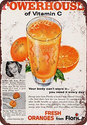 1959-florida-orange-juice-vintage-look-reproduction-metal-tin-sign-7x10-inches