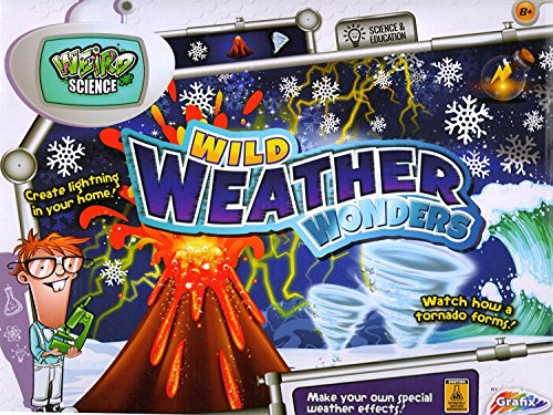RMS Grafix Wild Weather Wonders Educational Science Volcano Tornado Vortex Kit