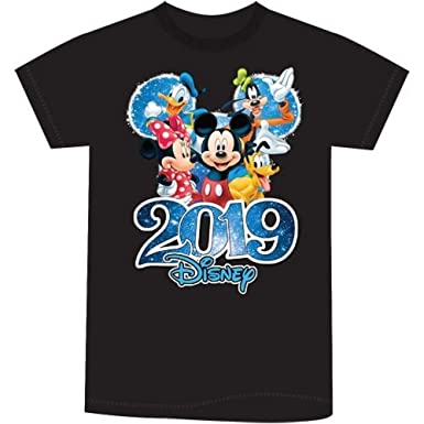 Women's Plus Size Mickey and Minnie Mouse Tee
