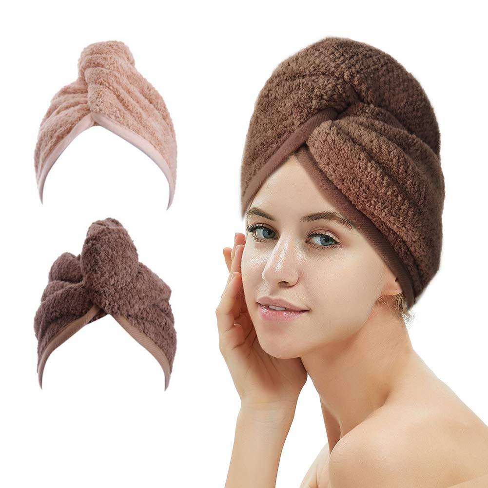 M-bestl 2 Pack Hair Drying Towels $6.79 Coupon