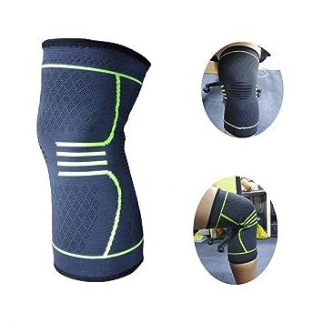 8ed74450ea Knee Brace Sleeve Support Compression For Women Seniors Men Volleyball  Elderly Running Boys Stabilizer Injuries Wrestling