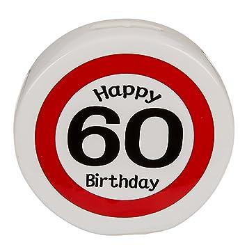 Amazon De 1 X Spardose Happy Birthday 60 60 Geburtstag
