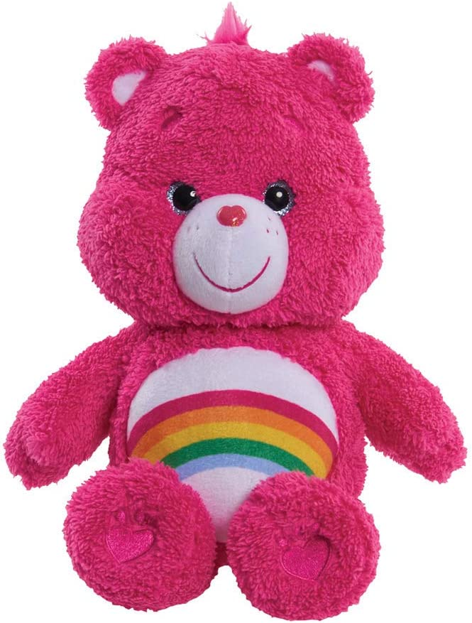 Message Recorder Stuffed Animals, Amazon Com Care Bears Cheer 12 Medium Plush Toys Games