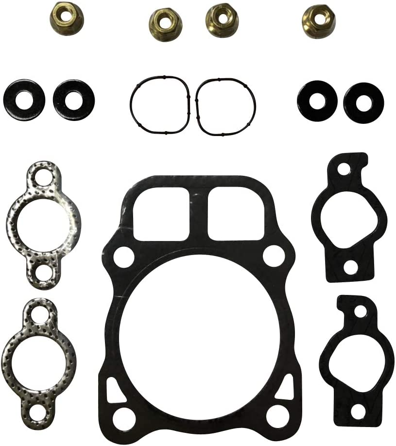 ENGINERUN Head Gasket Kit – Cylinder Head Gasket Set Compatible with Kohler CV22, CH22, CH23 and CV675 for 22 and 23 HP Engines Replaces OEM 24-841-02-S, 24-041-40-S, 2404133