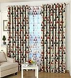 GYROHOME Tartan Lozenge Blackout Curtain Grommet