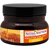 Natural Solution Himalayan Pink Salt Body Scrub with Natural Honey,Ultra Hydrating and Exfoliating Scrub for Nourishing…