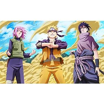 Naruto Personajes Personajes Cartel Ninja Wars Uchiha City ...