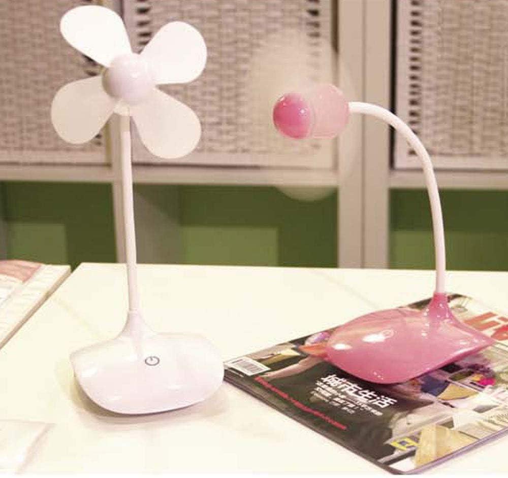 HHCZ Fan USB Desktop Cooling Metal Case Aluminum Office Laptop Simple Plug and Play,White