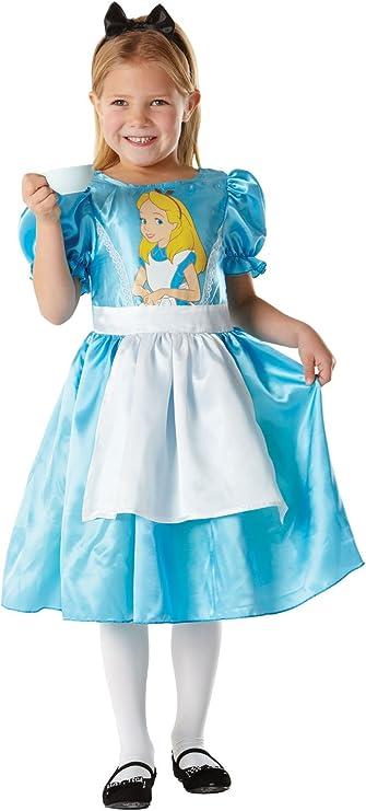 Disney - Disfraz de Alicia para niña, talla 104 cm (R883856-S ...
