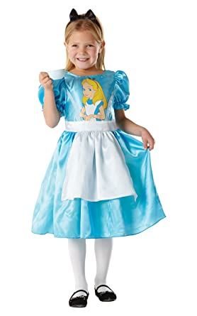 Small Girls Classic Alice In The Wonderland Costume