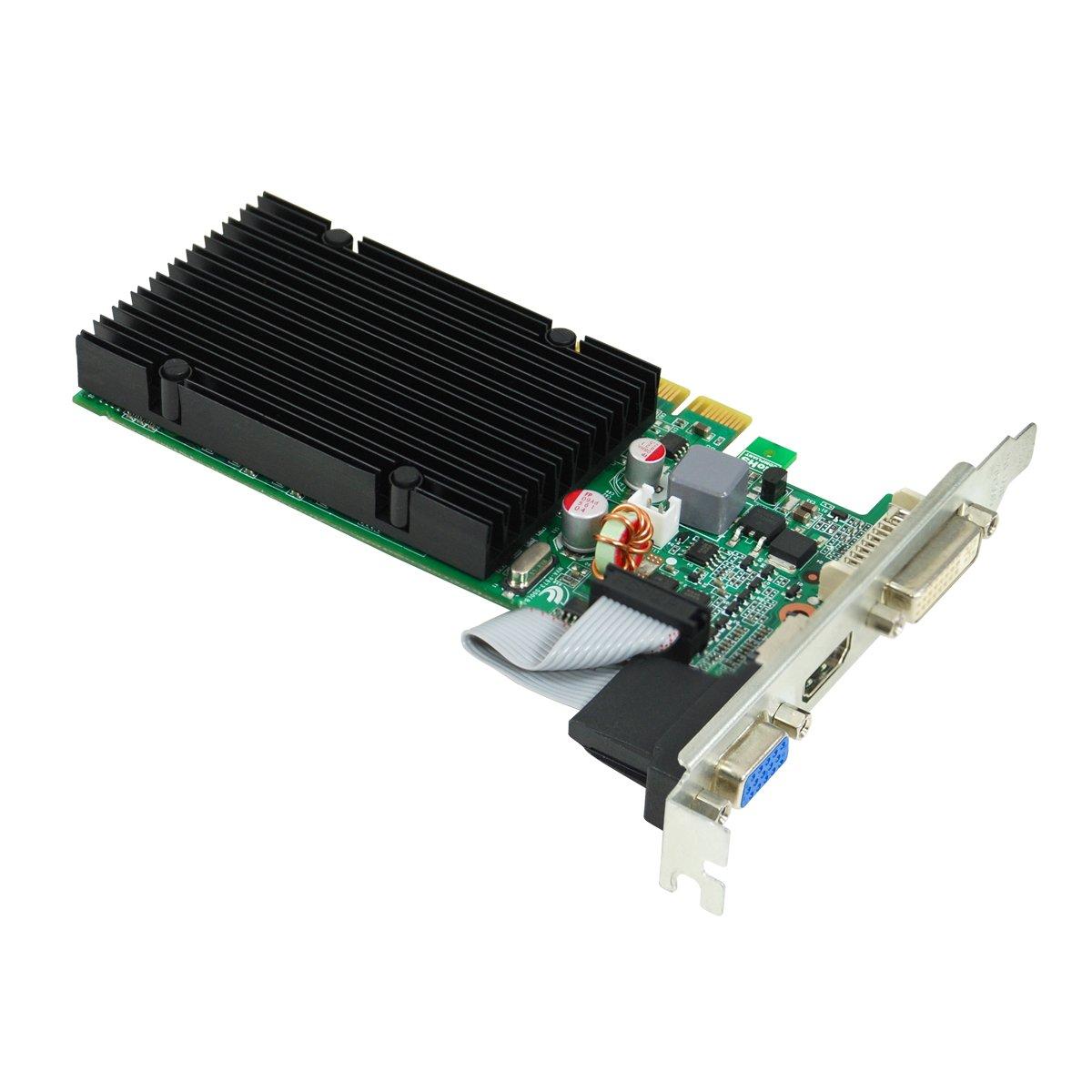 Amazon.com: EVGA GeForce 8400 GS Passive 512 MB DDR3 PCI Express 2.0  DVI/HDMI/VGA Graphics Card, 512-P3-1301-KR: Electronics