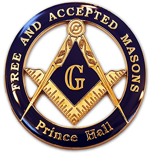 masonic-free-and-accepted-masons-prince-hall-blue-and-gold-auto-emblem