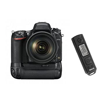 Meike Verticle Battery Grip For Nikon D750 Bulid-in 2 4G Wireless Timer  Remote Shutter Release
