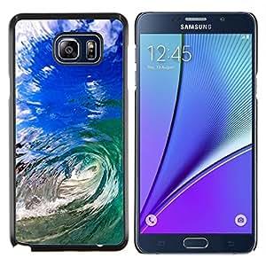 Stuss Case / Funda Carcasa protectora - Summer Sun Sea Wave Teal Blue Hawaii - Samsung Galaxy Note 5