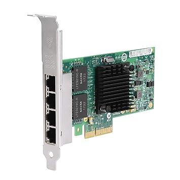 Tosuny para Intel 82580 Tarjeta de Red PCI-E Gigabit de 4 ...