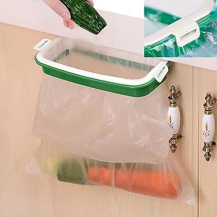 Etonnant Trash Bag Holder  Multi For Kitchen Cabinet Door Storage Cupboard (Buckle  Plastic Holder
