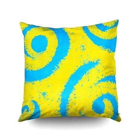 Capsceoll - Funda de almohada decorativa con diseño de ...