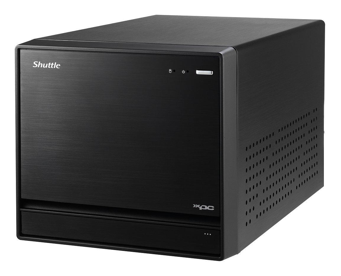 Shuttle XPC Cube SZ270R8 PC//Workstation Barebone Intel/® Z270 LGA 1151 Kubus Schwarz Buchse H4