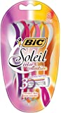 BIC Soleil Color Collection, Disposable Razor, Women, 8-Count