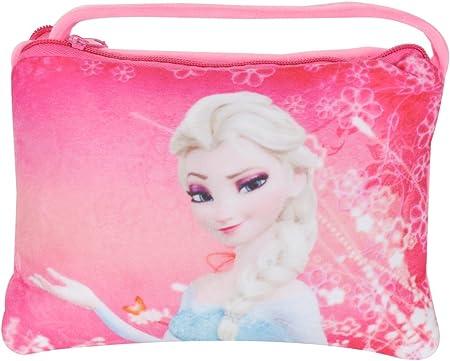 Chords Dark Pink Disney Frozen Princesses Elder Sisters Elsa Side Bag for Girls