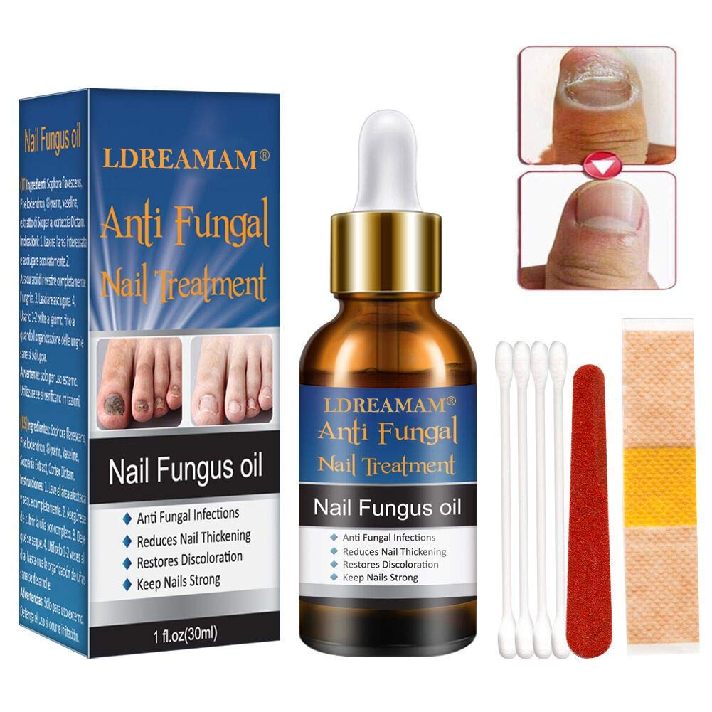 Nail Treatment,Repair Toenails,Nail Repair Solution, Nail Treatment Care for Nails and Cuticles by LDREAMAM