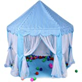 Princess Castle Play Tent House For Girls Indoor Outdoor Toy 56 x 54 inches