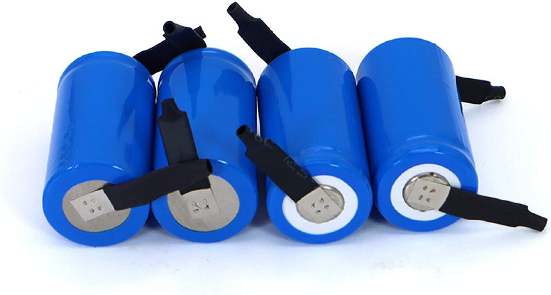 MeGgyc Batería Recargable del SC 2000mAh 21410 de 1.2v para la batería del abejón del barrendero del Aspirador 4PCSbattery