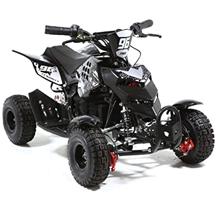 Amazon.com: FunBikes 800 W eléctrico bicicleta de mini quad ...