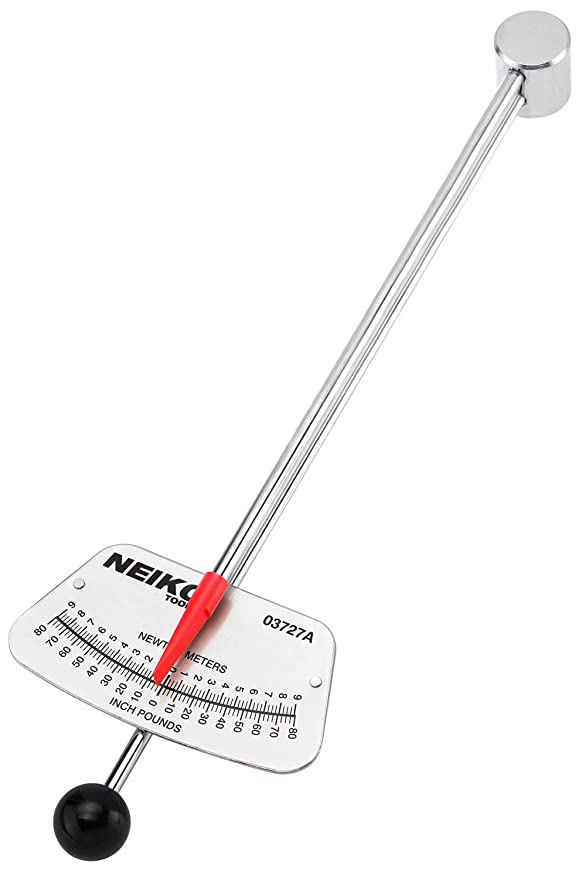 Neiko 03727A 1/4-Inch Drive Beam Style Torque Wrench
