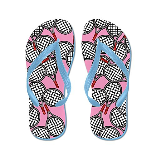 a43a74cf26d0 good CafePress - Tennis - Flip Flops