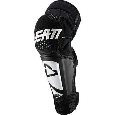 Leatt 2020 3DF Hybrid EXT Knee & Shin Guards (Small/Medium) (White/Black): Automotive