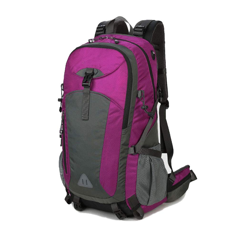 ZHAO YELONG 登山用バッグ メンズ 防水 大容量 旅行用バッグ 携帯用スーツケース 40L(ordinary) ローズレッド B07G61HRSK