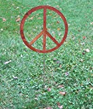 Peace Sign Garden Stake or Wall Hanging