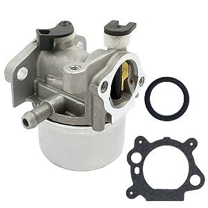HOOAI 799866 Carburetor For Briggs Stratton 790845 799871 796707 794304 Toro Craftsman Carb