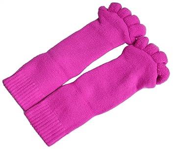 FiveSeasonStuff All Season confortable mullido Toes Divisor Alineamiento Calcetines / dedos de los pies Spreader calcetines