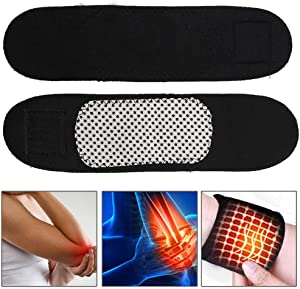 Zerone Wrist Brace, 1 Pair Magnetic Therapy Self-Heating Wristband Sports Unisex Wrist Brace Support Protector