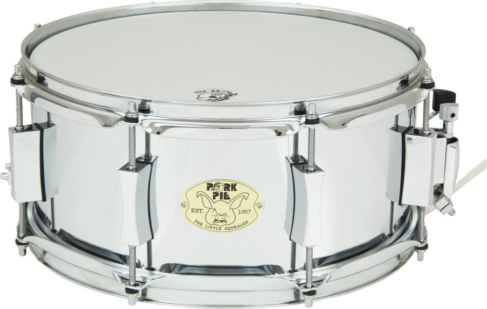 Pork Pie Little Squealer Steel Snare Drum 13 x 6 in. by Pork Pie