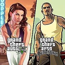 Grand Theft Auto V & Grand Theft Auto San Andreas - PS4 [Digital Code]
